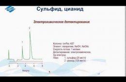 Embedded thumbnail for Ионная хроматография для экологического контроля